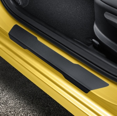 Genuine Kia Stonic Door Sill Protection Foils - Black