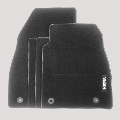 Genuine Vauxhall Insignia A 2009- 2014 Carpet Mats with Heel Pad