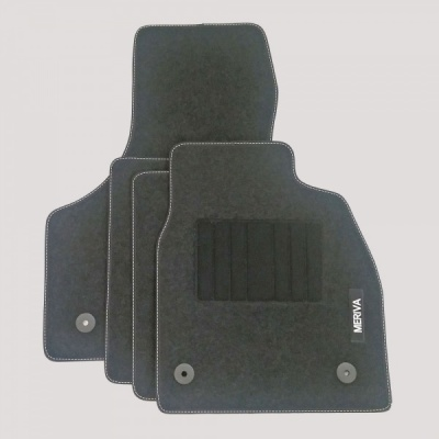 Genuine Vauxhall Meriva B Carpet Mats with Heel Pad