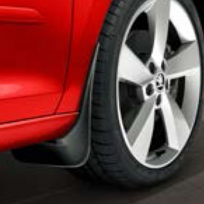 Genuine Skoda Rapid Spaceback Front mud flaps