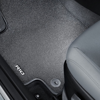 Genuine Kia Rio  Carpet Mats - Velour