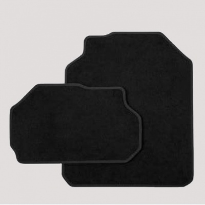 Genuine Skoda Kodiaq Textile Foot Mats For 3rd Seat Row