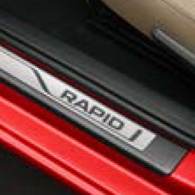 Genuine Skoda Rapid Spaceback Decorative Door Sill Covers