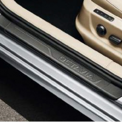 Genuine Skoda Octavia Door Sill Covers - Black