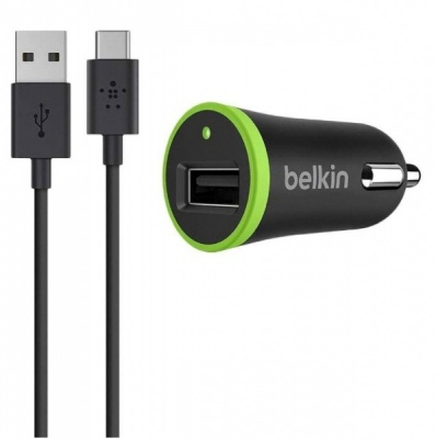 Belkin USB-C to USB-A Cable with Universal Car Charger