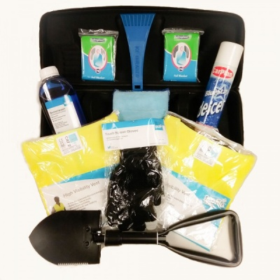 Winter Car Safety Kit With Shovel