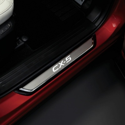 Genuine Mazda CX-5 Illuminated Scuff Plates
