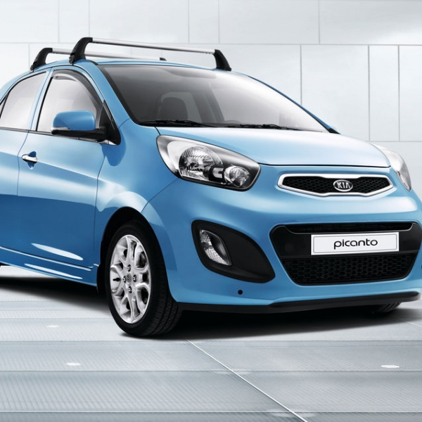 Kia Picanto 2 5 Door Hatchback: Genuine Kia Picanto Roof Bars