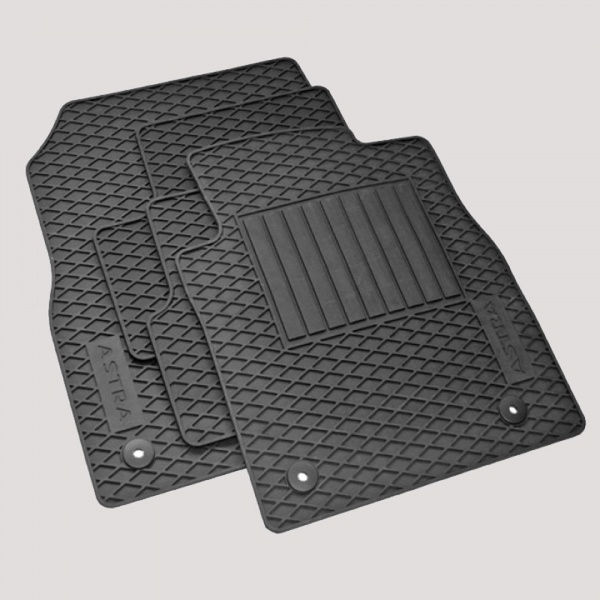 Rubber Floor Mat >> Genuine Vauxhall Astra J Rubber Floor Mats Set Of 4 Underwoods