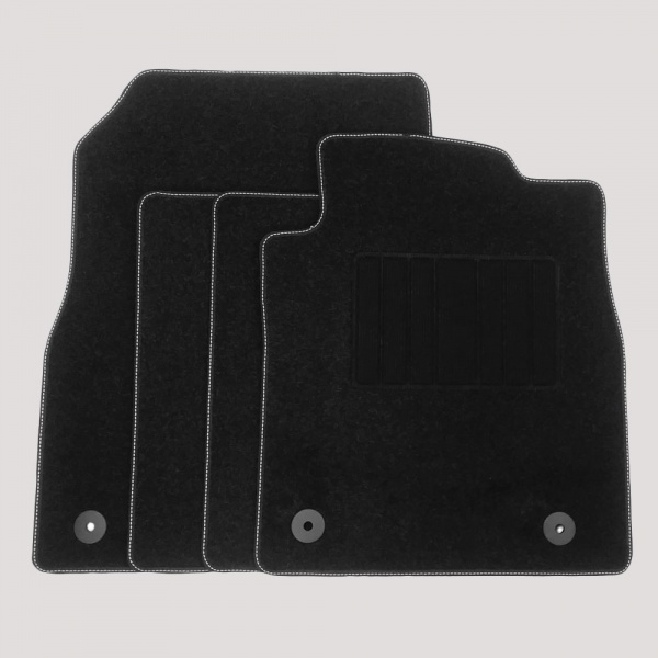 Genuine Vauxhall Cascada Carpet Mats with Heel Pad - Underwoods Car Parts and Accessories