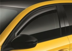 Corsa F Front Door Window Wind Deflectors