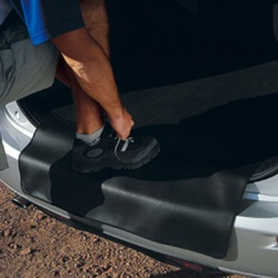 Genuine Mazda5 Boot Mat with Bumper Protection
