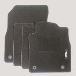 Genuine Vauxhall Astra J Carpet Mats with Heel Pad