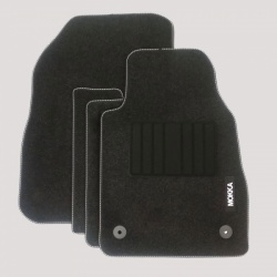 Genuine Vauxhall Mokka/Mokka X Carpet Mats with Heel Pad