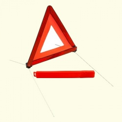 Genuine Mazda Warning Triangle - Mini