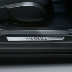 Genuine Vauxhall Branded Sill Plates/Scuff Guards