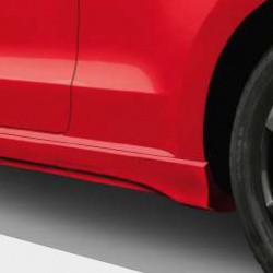 Genuine Skoda Citigo Side Door Sill Spoilers/Skirts - Unpainted
