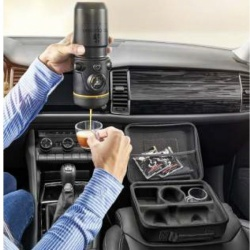 Portable Coffee/Espresso Maker - For Vehicles with 12V Socket