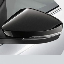 Genuine Skoda Octavia Metallic Black External Mirror Caps