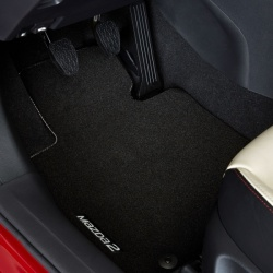 Genuine Mazda2 Velour Floor Mats