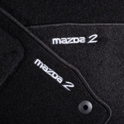 Genuine Mazda 2 (2010-2014) Velour Floor mats
